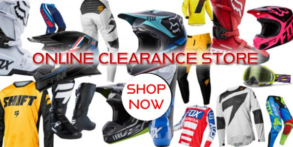 homepage CLEARANCE STORE PROMO PAGE